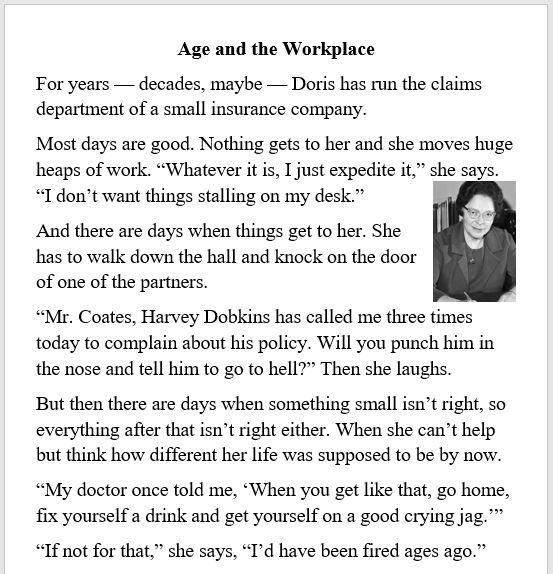 Grandma, career, work