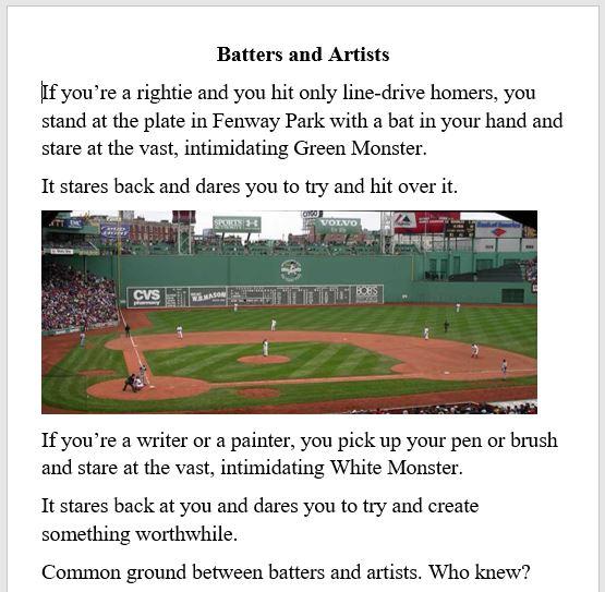 sports, writing
