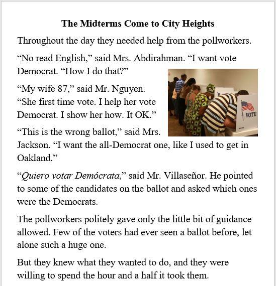 election, politics, race, immigrants, Democrat