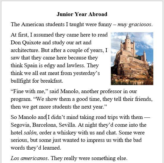 travel, Spain, Americans, student, Europe, school
