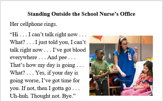 kids, school, nurses