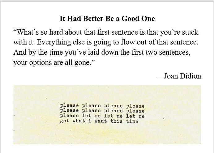 writing, authors, Didion